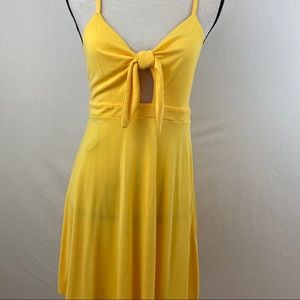 Forever 21 Dress. Yellow. SzL